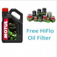 Motul 5100 - 10W40 Semi Synthetic Motorcycle Oil 4 Litres