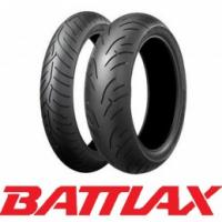 120/70 ZR17 (58W) - 180/55 ZR17 (73W) Bridgestone BT023 Tyre Pair