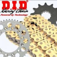 Aprilia 750 Shiver SL / GT (ABS) 07-16 Gold Chain & Sprocket Kit