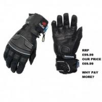 Halvarssons Beast Small Textile Gloves - Black