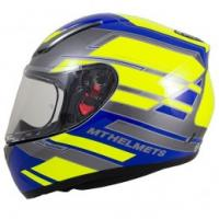 MT Helmets Revenge ZUSA Full Face Motorcycle Helmet Blue/Fluo Yellow