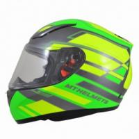Mt Helmets Revenge ZUSA Full Face Motorcycle Helmet Gloss Green/Fluo Yellow
