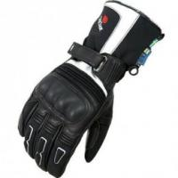 Halvarssons Outlast Ivory Small Leather Gloves - Black/White