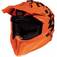 MT Falcon Karson Motorcross Helmet Matt Orange