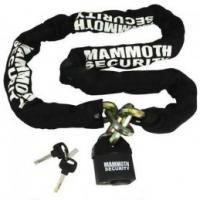 Mammoth 10mm Square Heavy Duty Lock and Chain 1.8m