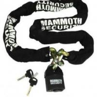 Mammoth Motorcycle 12mm Hexagon Lock and Chain 1m