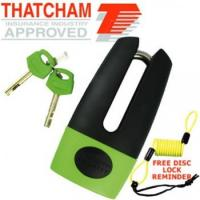 Mammoth Thatcham Hardend Steel Shackle Disc Lock 11mm