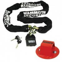 Mammoth 10mm Square Heavy Duty Lock and Chain 1.8m and Junior Anchor