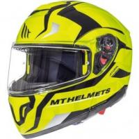 MT Helmets ATOM Divergence Size Large Full Face Motorcycle Helmet Fluo Yellow - Extra Large