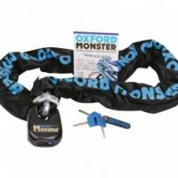 Oxford Monster Chain & Padlock 12mm Square 1.5m