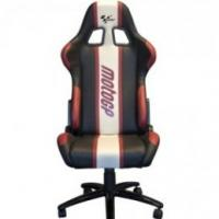 Red MotoGP professional rider paddock chair