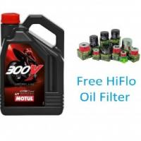 Motul 300V Road Race - 10w40 Synthetic Motorcycle Oil 4 Litres