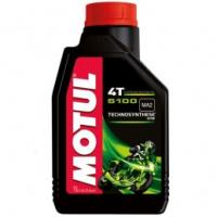 Motul 5100 - 10W40 Semi Synthetic Motorcycle Oil 1 Litres