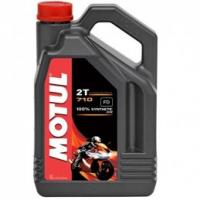 Motul 2T 710 Road Synthetic 2 Stroke Oil - 4 Litre