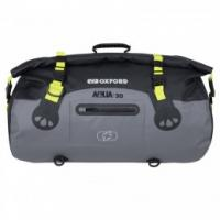 Oxford AQUA T-30 ROLL BAG - BLACK/GREY/FLUO
