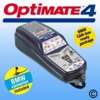 OptiMate 4 CAN BUS BMW Motorcycle Battery Charger