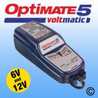 OptiMate 5 Voltmatic Motorcycle Battery Charger