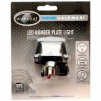 Oxford Halo Maxi Registration Plate LED Light