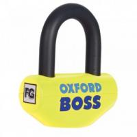 Oxford Boss Disc Lock 14mm Yellow