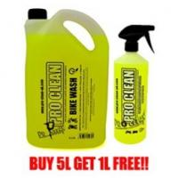 Pro Clean 5L Motorcycle Cleaner PLUS FREE 1L