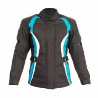 RST 1255 DIVA III Women's Textile Blue Jacket - Small/8