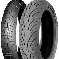 120/60 ZR17 (55W) & 160/60 ZR17 (69W) Pilot Road 4 Tyre Pair